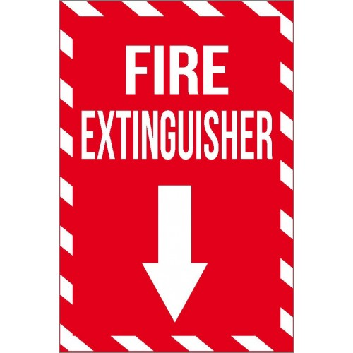 Fire Extinguisher (Vertical) Sign