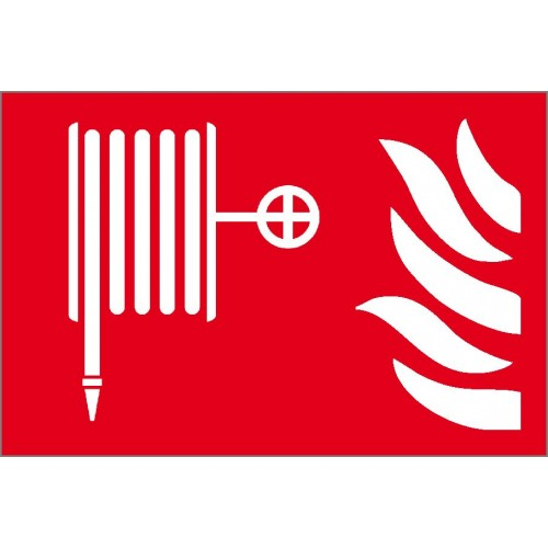 Fire Hose Symbol Sign