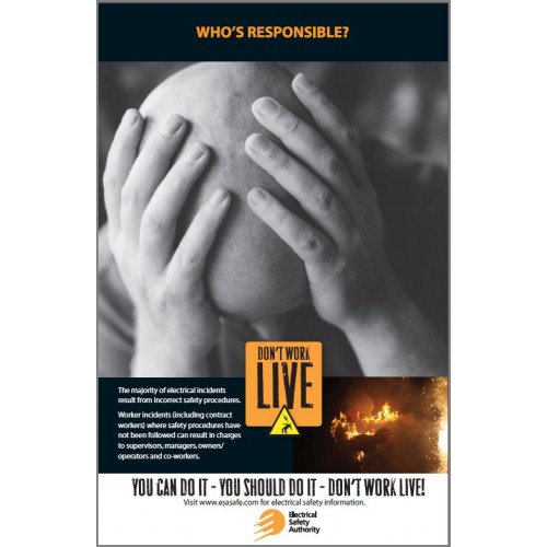 Whos Is Responcible Poster